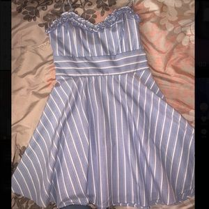 Alter'd State Blue Striped Dress